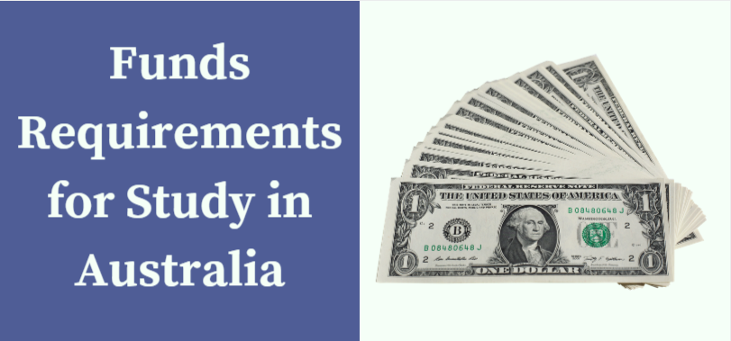 Funds Requirements for Study in Australia