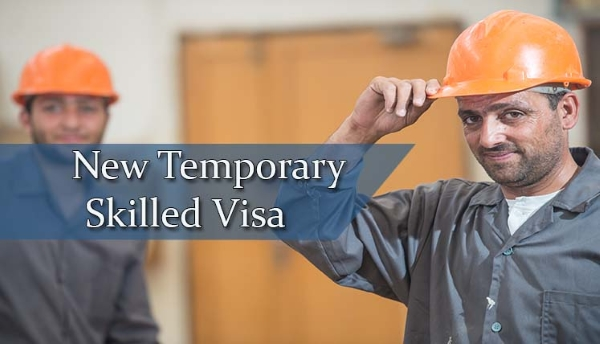 457 visa replaced by Temporary Skill Shortage visa