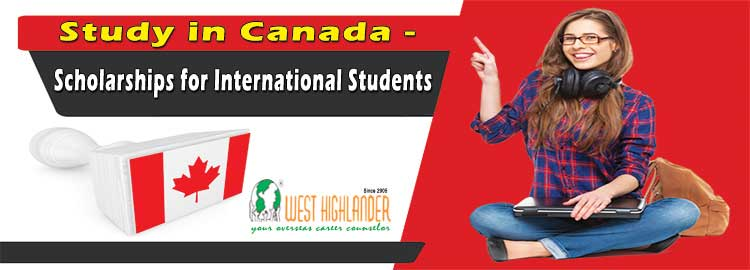 Study in Canada - Scholarships for International Students