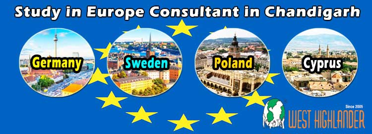 Study in Europe Consultants in Chandigarh
