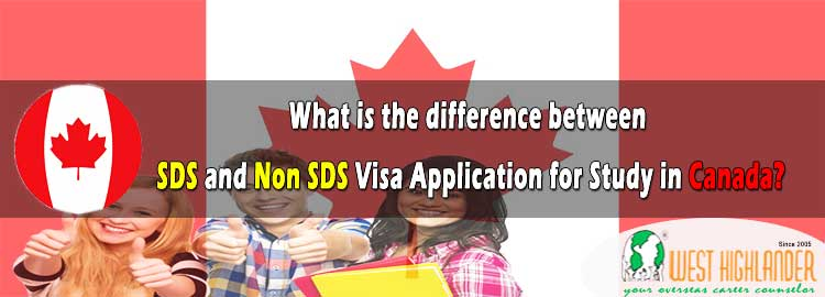 Difference between SDS and Non-SDS Visa Applications