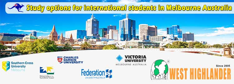 Study options for Overseas Students in Melbourne Australia