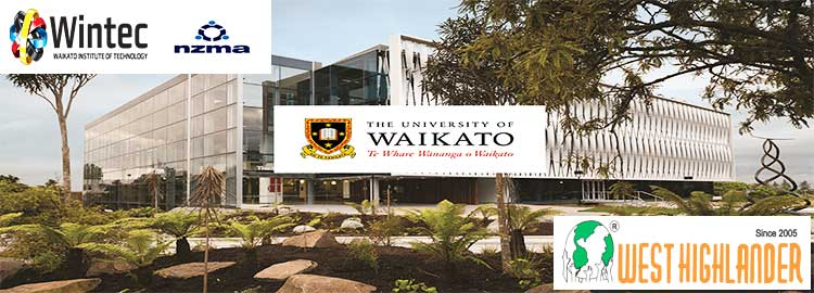 Study options for overseas students in Hamilton New Zealand