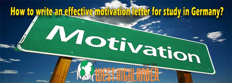 How to write an effective motivation letter for study in Germany?
