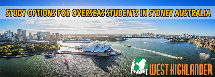 STUDY OPTIONS FOR OVERSEAS STUDENTS IN SYDNEY AUSTRALIA