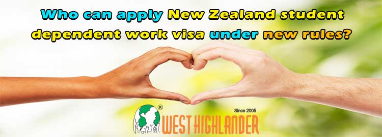 Who can apply NZ student spouse work visa under new rules?