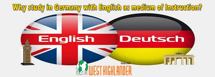 Why study in Germany with English as medium of Instruction?