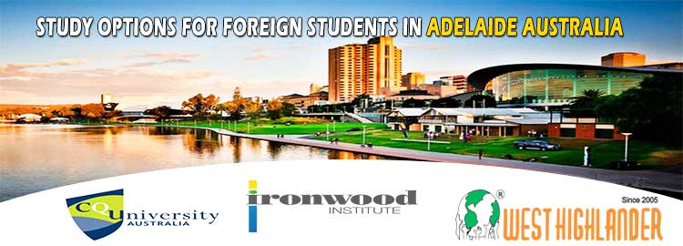 STUDY OPTIONS FOR FOREIGN STUDENTS IN ADELAIDE AUSTRALIA