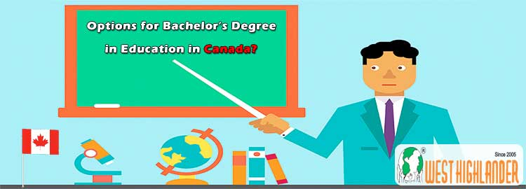 Options for Bachelor's Degree in Education in Canada?