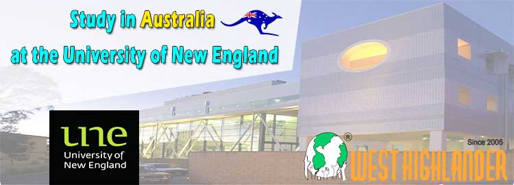 STUDY IN AUSTRALIA AT THE UNIVERSITY OF NEW ENGLAND