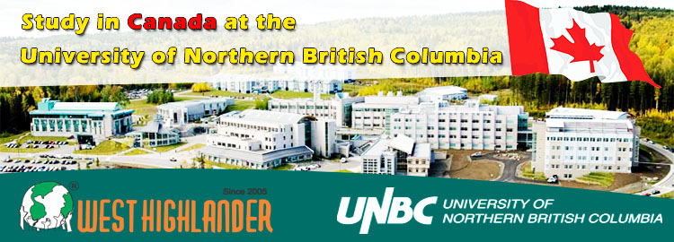 Study in Canada at the University of Northern British Columbia